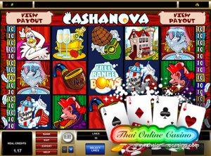 Cashanova Slot – ออนไลน์สล็อตเกมส์